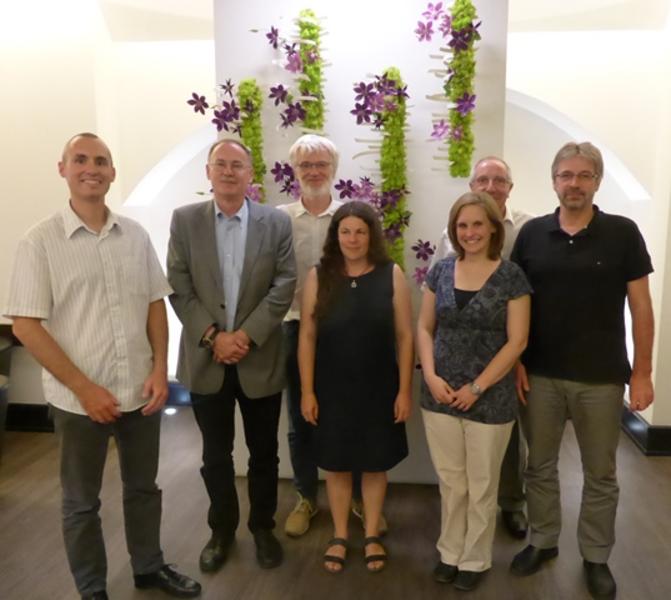 Besuch der Delegation Worms in Metz
