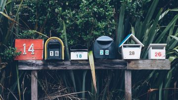 Mailboxes banner newsletter
